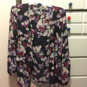 floral thin jacket